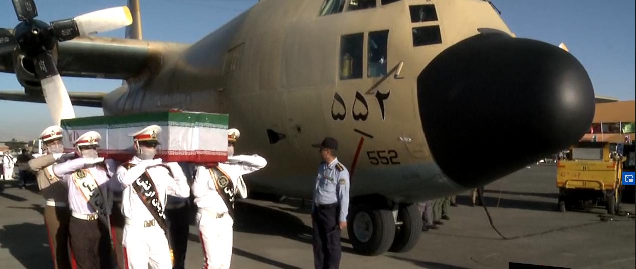 فیلم مراسم تشییع پیکرمطهر ۱۹ شهدای ناوچه کنارک ارتش جمهوری اسلامی ایران