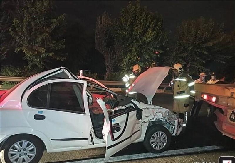 یک کشته در تصادف روز گذشته رضی به اردبیل