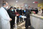 حضور رئیس دادگستری استان اردبیل در بیمارستان بوعلی+تصاویر