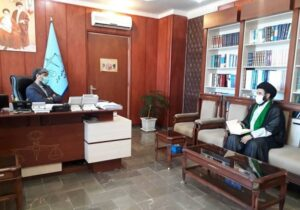 دیدار دبیر ستاد احیاء امر به معروف و نهی از منکر استان اردبیل با رئیس کل دادگستری+شرح گفتگو