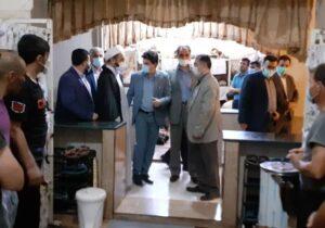 بازدید و دیدار رئیس کل دادگستری استان اردبیل از محاکم قضائی، ائمه جمعه لاهرو و مشگین شهر